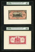 Canadian Currency: , Bridgetown, Barbados- The Royal Bank of Canada $20 (£4-3-4) January3, 1938 Ch. # 630-32-04P Face/Back Proofs . ... (Total: 2 notes)