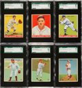 Baseball Cards:Lots, 1933 Goudey Baseball SGC 86 NM+ 7.5 Collection (6)....
