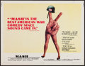 "Movie Posters:Comedy, MASH (20th Century Fox, 1970). Half Sheet (22"" X 28""). Comedy.. ..."