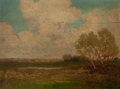 Paintings, JULIAN ONDERDONK (American, 1882-1922). Sunlit Meadows, 1909. Oil on wood panel. 9 x 12 inches (22.9 x 30.5 cm). Signed ...