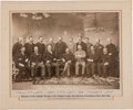 Baseball Collectibles:Photos, 1897 Delegates to the Schedule Meeting of the NL & AA ofBaseball Clubs Imperial Photograph....
