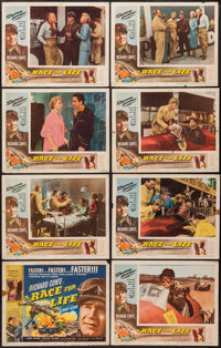 """A Race for Life (Lippert, 1954). Lobby Card Set of 8 (11"""" X 14""""). Sports. ... (Total: 8 Items)"""