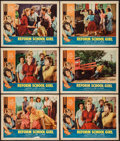 "Movie Posters:Bad Girl, Reform School Girl & Others Lot (American International, 1957).Lobby Cards (10) (11"" X 14""). Bad Girl.. ... (Total: 10 Items)"