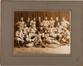 Baseball Collectibles:Photos, Circa 1890 College of the Holy Cross Baseball Team Imperial CabinetPhotograph....