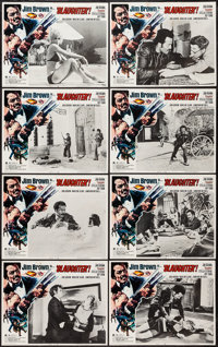 "Slaughter (American International, 1972). Lobby Card Set of 8 (11"" X 14""). Blaxploitation. ... (Total: 8 Items..."