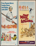 "Movie Posters:Adventure, That Man in Istanbul & Other Lot (Columbia, 1966). Inserts (2)(14"" X 36""). Adventure.. ... (Total: 2 Items)"