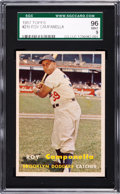 Baseball Cards:Singles (1950-1959), 1957 Topps Roy Campanella #210 SGC 96 Mint 9 - Pop Six, NoneHigher. ...