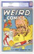 Golden Age (1938-1955):Horror, Weird Comics #5 (Fox Features Syndicate, 1940) CGC VF 8.0 Off-whitepages. The cover definitely matches the title of this Fo...