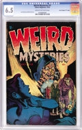 "Golden Age (1938-1955):Horror, Weird Mysteries #1 Davis Crippen (""D"" Copy) pedigree (Gilmor, 1952)CGC FN+ 6.5 Cream to off-white pages. We thought we reco..."