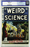 Golden Age (1938-1955):Science Fiction, Weird Science #14 Gaines File pedigree (EC, 1952) CGC NM+ 9.6Off-white pages. Wally Wood turns in a beautiful cover illustr...