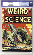 Golden Age (1938-1955):Science Fiction, Weird Science #15 Gaines File pedigree 10/12 (EC, 1952) CGC NM 9.4Off-white to white pages. Al Williamson made his first co...