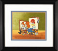 Animation Art:Limited Edition Cel, Woody's Triple Self Portrait Limited Edition Hand Painted Cel#132/200 Original Art (MCA/Universal, 1992). Woody paints Wood...