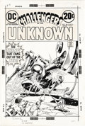 Original Comic Art:Covers, Nick Cardy - Challengers of the Unknown #80 Cover Original Art (DC,1973). The Challengers face off against a giant Tyran ba...