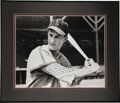 Autographs:Photos, Stan Musial Signed Oversized Photograph. What we offer here is anabsolutely stunning depiction of a baby-faced Stan the Ma...