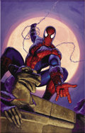Original Comic Art:Paintings, Greg Hildebrandt - Spider-Man Poster Illustration Painting Original Art (1990s). What's left to say about the amazing Spider...