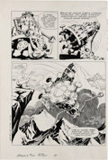 Original Comic Art:Panel Pages, Russ Manning - Magnus Robot Fighter #20, page 19 Original Art (GoldKey, 1967). In 4000 A.D., North Am, man has become too d...