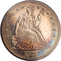 Proof Seated Dollars, 1840 $1 PR64 Cameo PCGS. CAC....