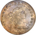 Early Dollars, 1798 $1 Large Eagle, Pointed 9 MS61 ANACS. B-15, BB-112, R.3....