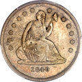 Seated Quarters, 1840-O 25C No Drapery MS65 PCGS....