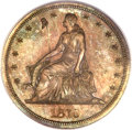Patterns, 1870 $1 One Dollar, Judd-1005, Pollock-1137, R.6, PR66 Red andBrown PCGS. CAC....