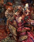 American:Modern, JEFFREY R. WATTS (American, b. 1970). The Final Touch, 2007.Oil on canvas. 30 x 24 inches (76.2 x 61.0 cm). Signed lowe...