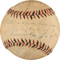 Autographs:Baseballs, 1930's Jimmie Foxx Single Signed Baseball, PSA/DNA EX 5....