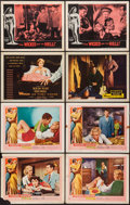 "Movie Posters:Bad Girl, Wicked Woman & Others Lot (United Artists, 1953). Lobby Cards(8) (11"" X 14""). Bad Girl.. ... (Total: 8 Items)"