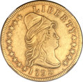 Early Eagles, 1795 $10 13 Leaves -- Improperly Cleaned -- NGC Details. XF. BD-2,R.4....