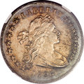 Early Dollars, 1796 $1 Small Date, Large Letters AU58 NGC. B-4, BB-61, R.3....