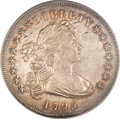 Early Dollars, 1795 $1 Draped Bust, Off Center AU55 PCGS. B-14, BB-51. ...
