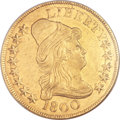 Early Eagles, 1800 $10 MS60 NGC. BD-1, High R.3....