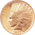 Indian Eagles, 1911-D $10 MS62 NGC....