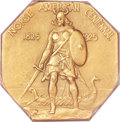 Proof Commemorative Gold, 1925 Medal Norse Gold PR65 PCGS. CAC....