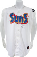 Baseball Collectibles:Uniforms, 2007 Clayton Kershaw Game Worn Jacksonville Suns Jersey....