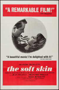 "The Soft Skin & Other Lot (Cinema V, 1964). One Sheets (2) (27"" X 41""). Romance. ... (Total: 2 Items)"