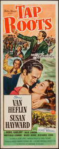 "Movie Posters:Drama, Tap Roots (Universal International, R-1956). Insert (14"" X 36""). Drama.. ..."