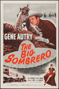"Movie Posters:Western, The Big Sombrero (Columbia, R-1956). One Sheet (27"" X 41""). Western.. ..."
