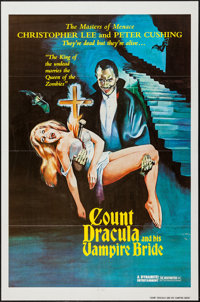 """Count Dracula and His Vampire Bride (Dynamite Entertainment, 1978). One Sheet (27"""" X 41""""). Horror"""