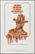 "Movie Posters:Western, The Cowboys (Warner Brothers, 1972). One Sheet (27"" X 41"") Style B. Western.. ..."