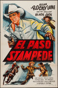 "Movie Posters:Western, El Paso Stampede (Republic, 1953). One Sheet (27"" X 41""). Western.. ..."
