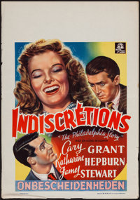 "The Philadelphia Story (MGM, late 1940s). Belgian (16.25"" X 23.25""). Comedy"