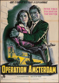 "Movie Posters:War, Operation Amsterdam (Rank, 1959). French Grande (44.5"" X 63"").War.. ..."