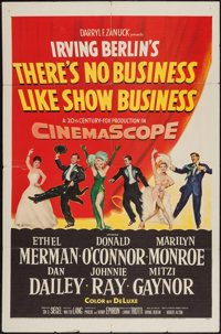 "There's No Business Like Show Business (20th Century Fox, 1954). One Sheet (27"" X 41""). Musical"