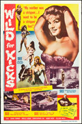 """Movie Posters:Exploitation, Wild for Kicks (Beat Girl) & Others Lot (Times Film Corp, 1962). One Sheets (4) (27"""" X 41""""). Exploitation.. ... (Total: 4 Items)"""