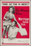 """Movie Posters:Comedy, Marriage Italian-Style (Embassy, 1964). One Sheet (27"""" X 41"""").Comedy.. ..."""