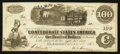 Confederate Notes:1862 Issues, T40 $100 1862 PF-1 Cr. 498.. ...
