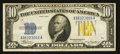 Small Size:World War II Emergency Notes, Fr. 2309 $10 1934A North Africa Silver Certificate. Late Finished Face Plate 86. Very Fine+.. ...
