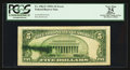 Error Notes:Ink Smears, Fr. 1962-F $5 1950A Federal Reserve Note. PCGS Apparent Very Fine25.. ...