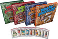 Non-Sport Cards:Sets, 1973 - 1977 Topps Wacky Packages Complete Set Run (16) InNon-Sports Update Binders. ...