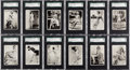 "Non-Sport Cards:Sets, 1939 Ardath ""Real Photographs Series 2"" SGC Graded Complete Set(44). ..."